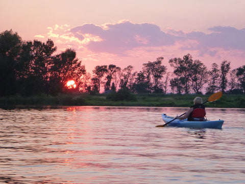 Guided Tour : Moonlight Tour - Grand River Kayak Dunnville Ontario Canada