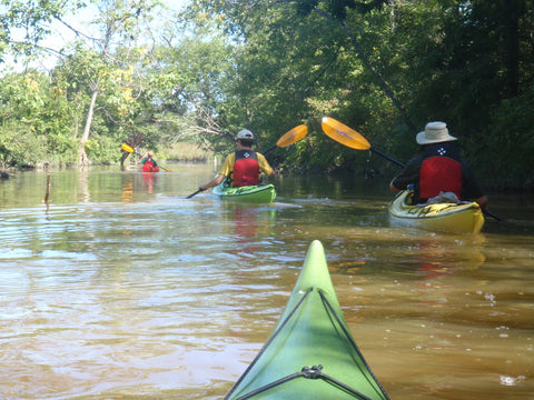 Guided Tour : Lower Grand River Explorer - Grand River Kayak Dunnville Ontario Canada