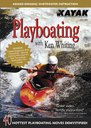 DVD : Playboating with Ken Whiting - Grand River Kayak Dunnville Ontario Canada