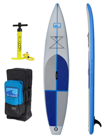Rental : iSUP Inflatable SUP Board Travel Package - Grand River Kayak Dunnville Ontario Canada