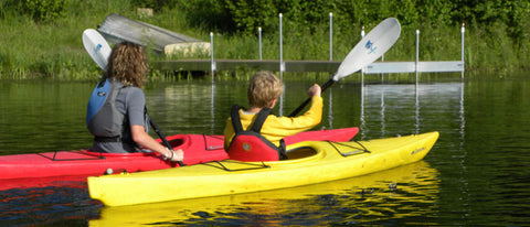 Aquabound : Sharkie (Kid's Paddle) - Grand River Kayak Dunnville Ontario Canada