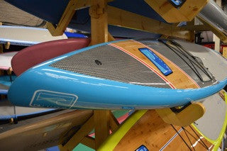 Blu Wave : The Fathom Twelve Six - Grand River Kayak Dunnville Ontario Canada