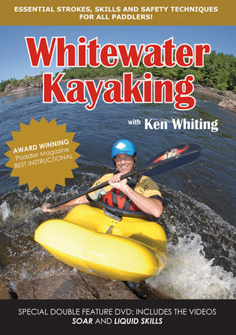 DVD : Whitewater Kayaking with Ken Whiting - Grand River Kayak Dunnville Ontario Canada