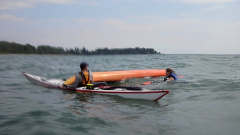Lesson : Intro to Rescue (On The Road Edition) - Grand River Kayak Dunnville Ontario Canada