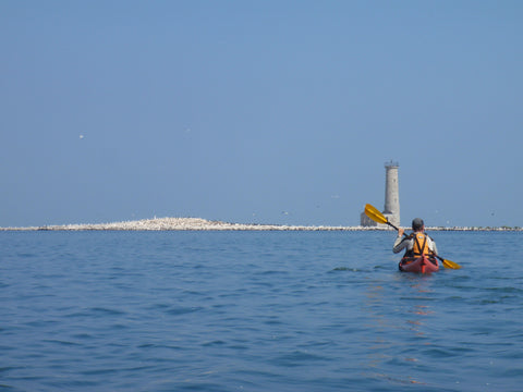 Guided Tour : Mohawk Island Lighthouse - Grand River Kayak Dunnville Ontario Canada