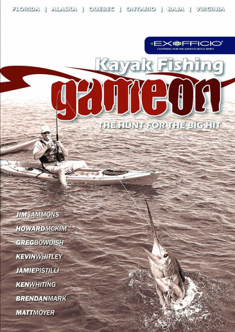 DVD : Kayak Fishing GAME ON! - Grand River Kayak Dunnville Ontario Canada