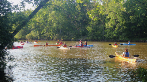 Lesson : Guided Tour / Intro Lesson Combo - Grand River Kayak Dunnville Ontario Canada
