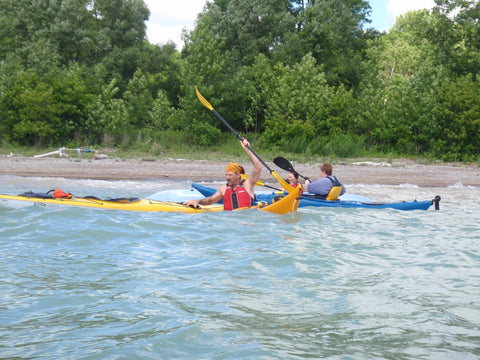 Paddle Canada : Sea Kayak Skills Level 1 - Grand River Kayak Dunnville Ontario Canada