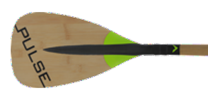 Pulse SUP : Bamboo Carbon Adjustable SUP Paddle