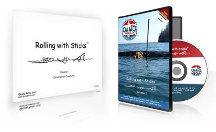 DVD : Rolling with Sticks Vol 1 - Grand River Kayak Dunnville Ontario Canada
