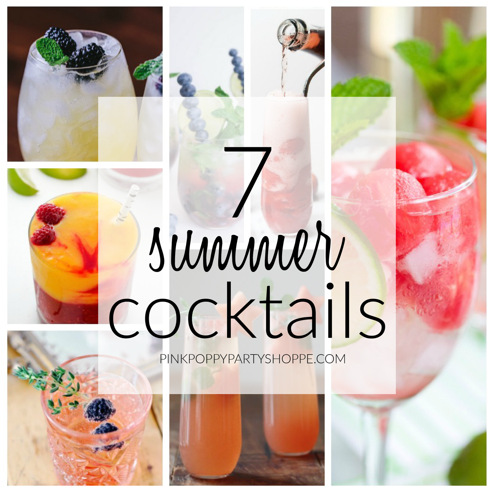 {Recipe} 7 delicious summer cocktails that are sure to inspire!