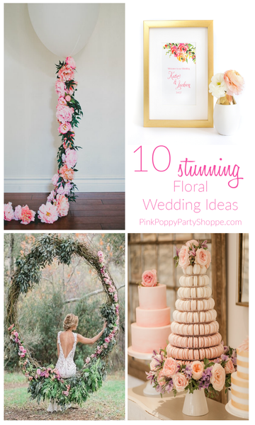 {Weddings} Floral Wedding Inspiration