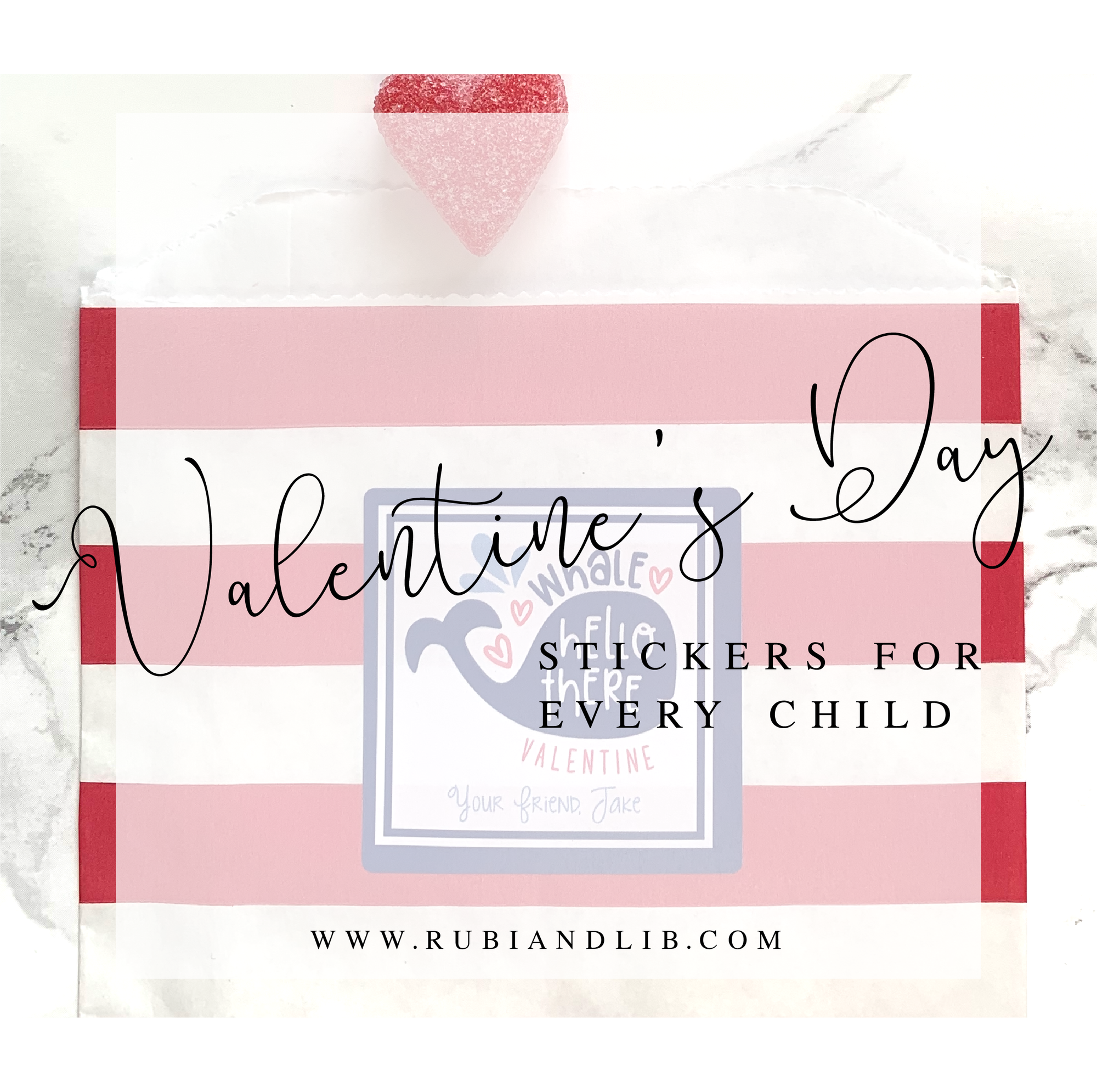 Valentine's Day Stickers for Every Child