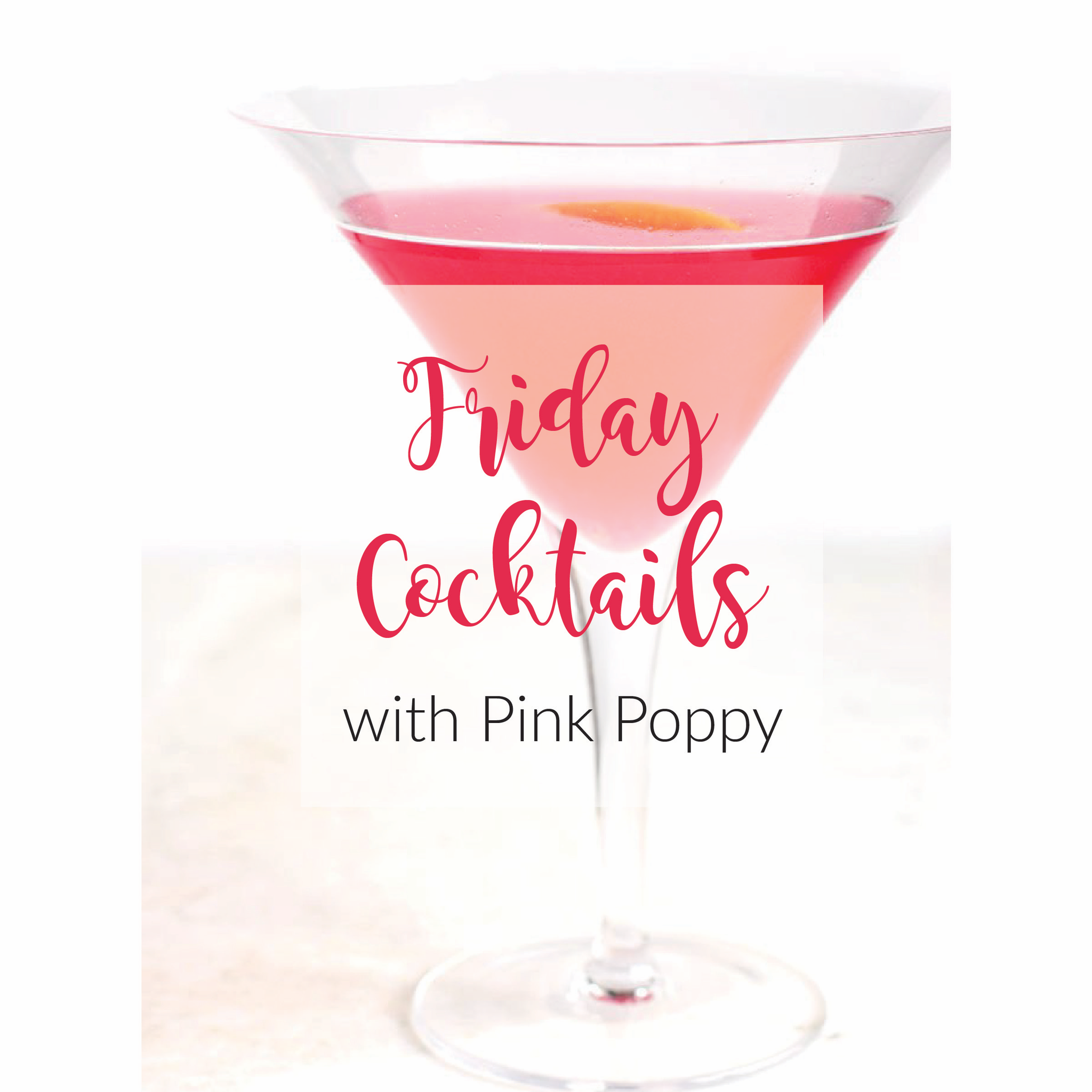 {let's drink | cocktails} Happy Friday!!!