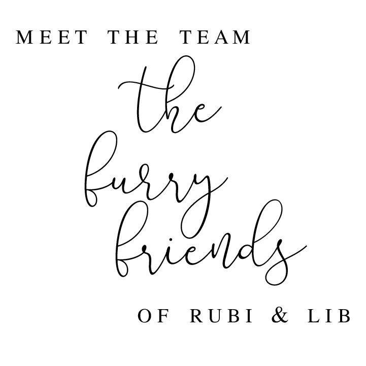 Meet the Furry Friends of Rubi and Lib