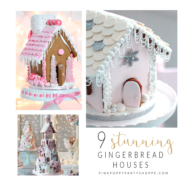 {Holidays} 9 Stunning Gingerbread House Inspirational Ideas
