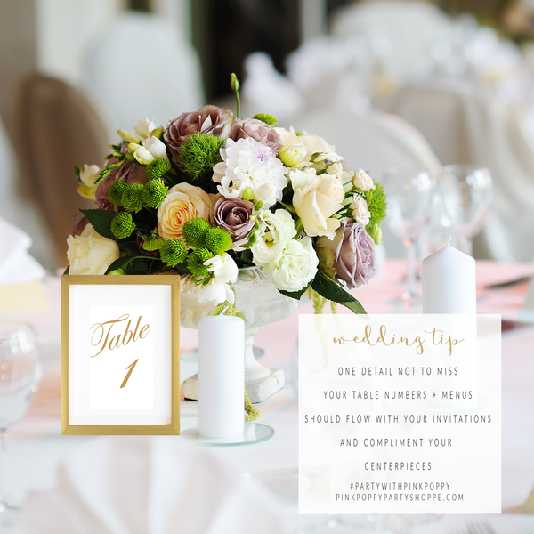 {Wedding Tip} One Detail Not to Miss