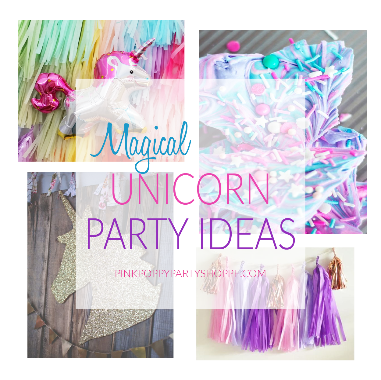 {Plan Your Party} Magical Unicorn Party Inspiration
