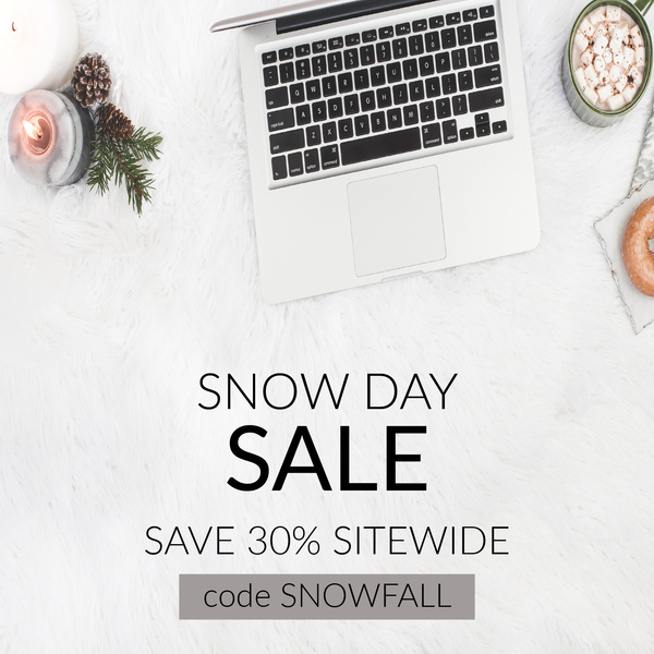 Snow Day Sale: Save 30% Today!
