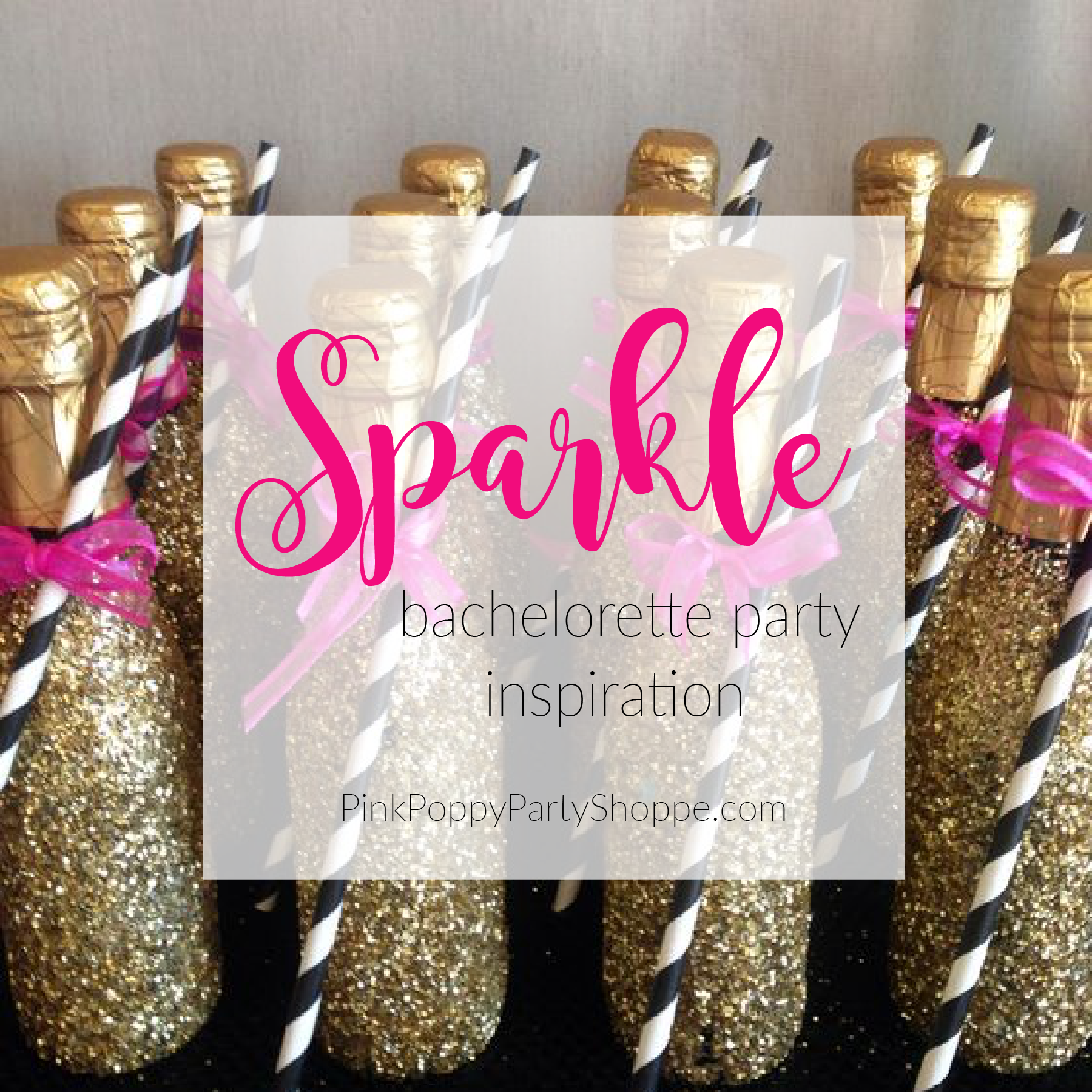{Plan Your Party} Sparkle Bachelorette Party Inspiration