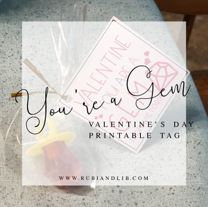 💍 You're a Gem Valentine's Day Tags 💍