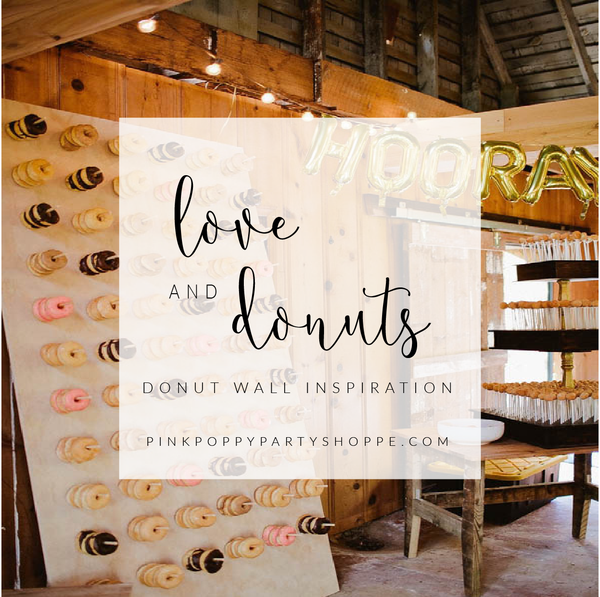 {Weddings} All You Need is Love and Donuts