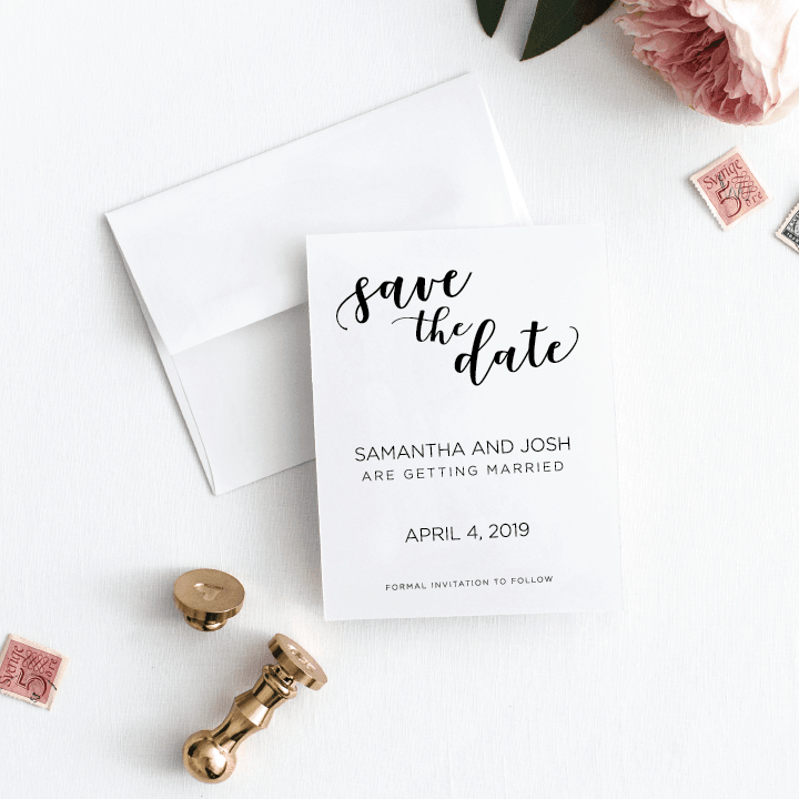 You said yes?! It's time to Save the Date!