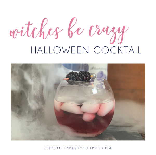 Witches Be Crazy Blackberry Cocktail