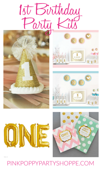 Party Kits to Help Plan The Perfect 1st Birthday Party
