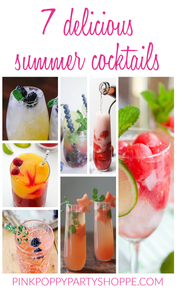 Looking for summer cocktail recipes? Take a look at these 7 delicious summer cocktails that are sure to inspire!