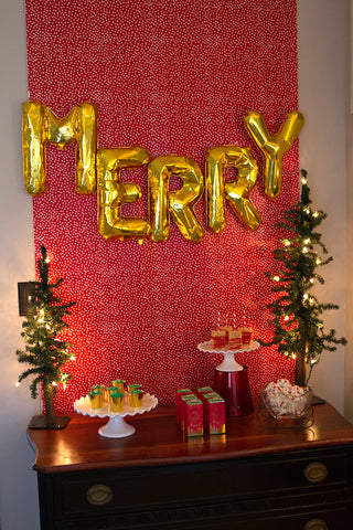 Be Merry Christmas Party for Kids | Party with Pink Poppy Blog