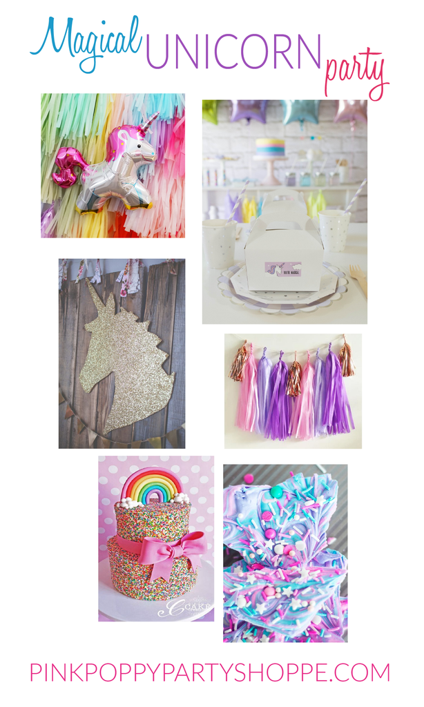 Magical Unicorn Party Inspiration | Pink Poppy Party Shoppe Blog