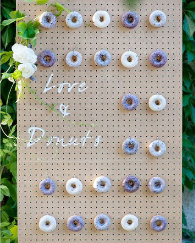 All You Need is Love and Donuts | Donut Wall Inspiration | Party with Pink Poppy Blog