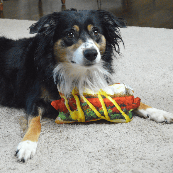 Doggijuana® - Get the Munchies Hot Dog - Refillable Dogginip® Toy