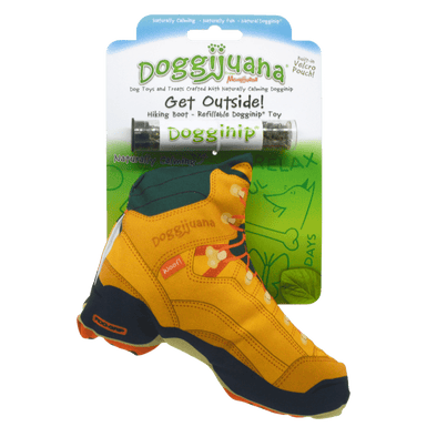 Doggijuana® - Get Outdoors Hiking Boot - Refillable Dogginip® Toy