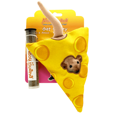 Get Cheezy Refillable Cheese and Mouse
