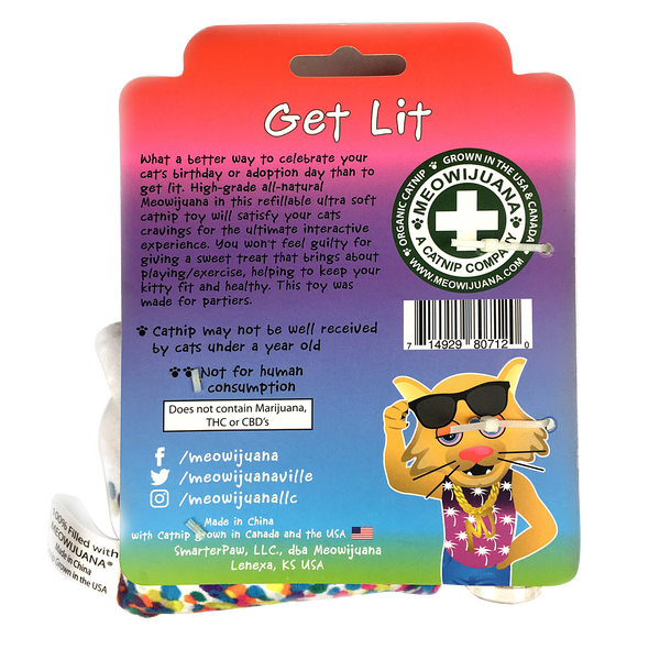 Get Lit Refillable Birthday Cake