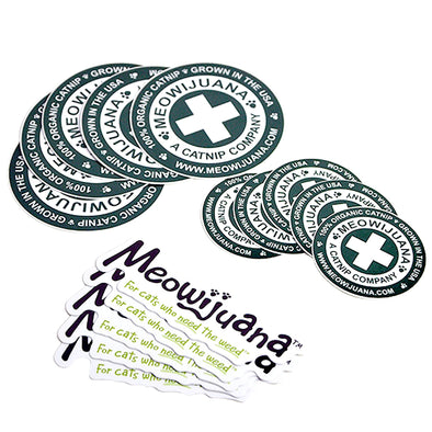 Meowijuana Sticker Pack