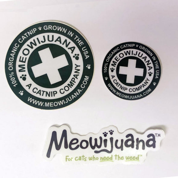 Small Meowijuana Sticker Pack