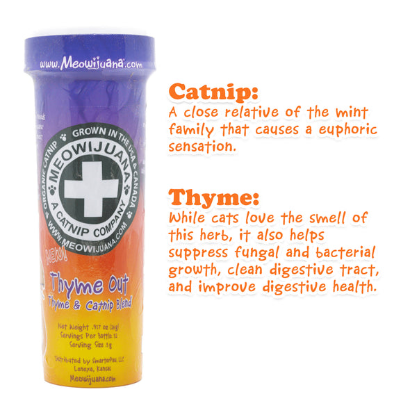 Thyme Out - Thyme and Catnip Blend