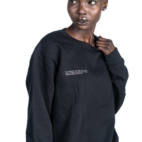 The Crewneck - Black