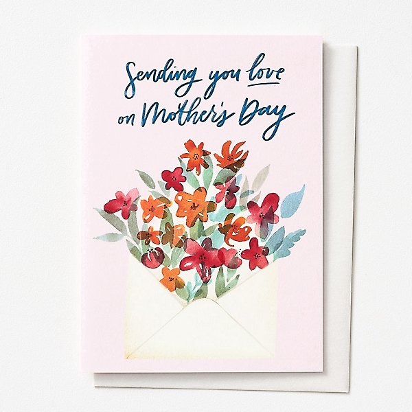 Mother's Day Greeting Card - Sending You Love on Mother's Day