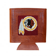 Load image into Gallery viewer, Washington Redskins Needlepoint Can Cooler - Smathers & Branson