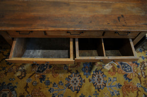 Antique Possum Belly Bread Baker's Table