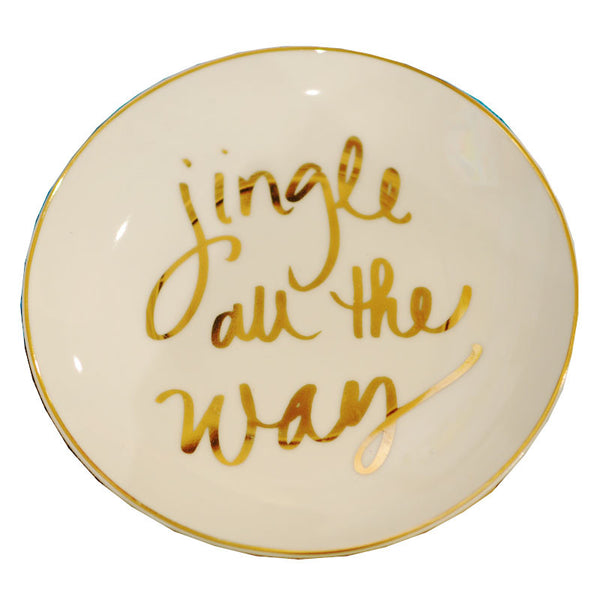 Jingle All the Way Dish - Chestnut Lane Antiques & Interiors - 1