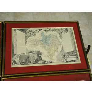 Set of 4 Antique French Maps