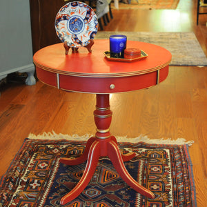 Regency-Style Painted Round Table