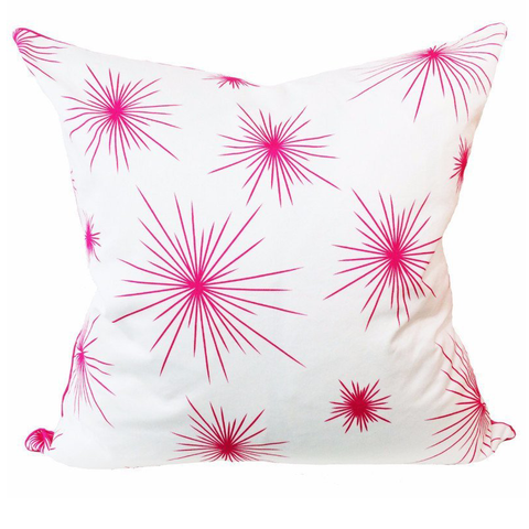 Ella Urchin Hot Pink Pillow - Chestnut Lane Antiques & Interiors