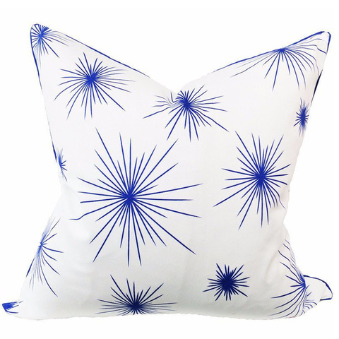 Ella Urchin Royal Blue Pillow - Chestnut Lane Antiques & Interiors