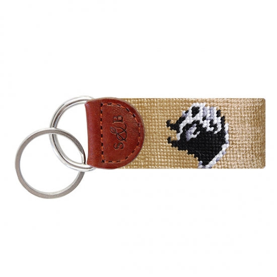 Smathers & Branson Needlepoint Key Fob - Wofford
